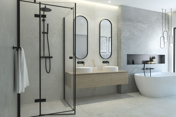 Moda na czarne kabiny prysznicowe koresponduje bezpośrednio z trendem na industrialny styl, który szturmem wdarł się do polskich łazienek. Zobaczcie kabiny idealnie wpisujące się w tę estetykę.