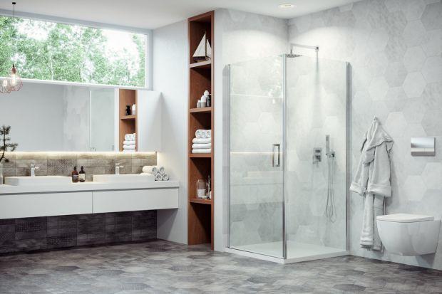 Kabiny prysznicowe coraz częściej zastępują w łazienkach wanny lub istnieją obok nich. Ulubionym miejscem ich montażu jest narożnik pomieszczenia. Zobaczcie modele dedykowane właśnie do tego miejsca.