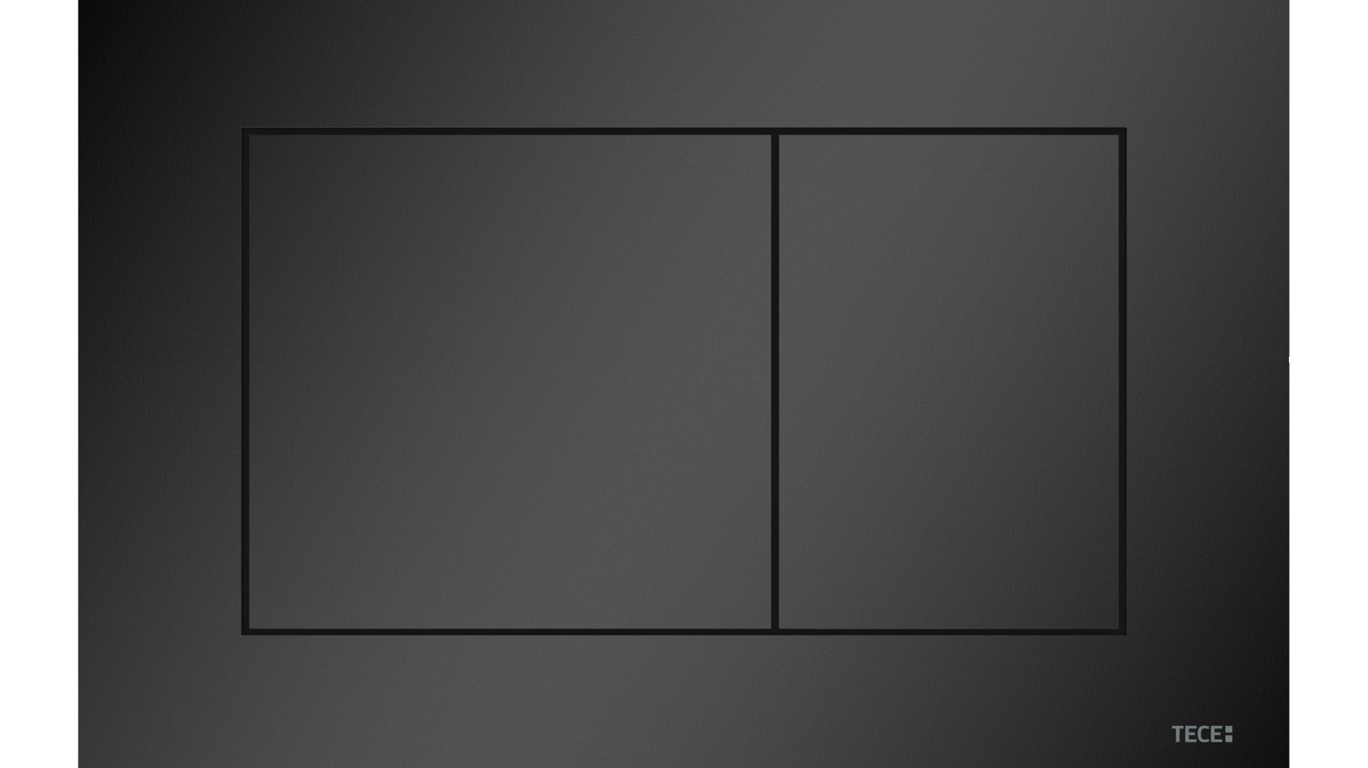 Przycisk spłukujący TECEnow czarny matowy. Fot. TECE