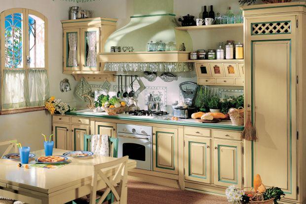 Jest ciepła, przytulna i bardzo kolorowa. Kuchnia w stylu rustykalnym to kwintesencja dobrego smaku ubranego w piękne pastelowe barwy. Tu można poczuć się jak u babci.<br /><br />