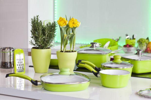 Jeśli szukasz pomysłu na ożywienie swojej kuchni, postaw na wiosenną zieleń.