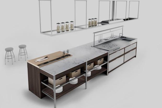 Marka Ernestomeda na targach EuroCucina 2016 zaprezentowała nową kuchnię K-Lab, którą zaprojektował Giuseppe Bavuso.