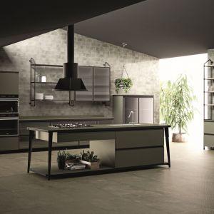Kuchnia Open Workshop Kitchen z oferty marki Diesel. Fot. Scavolini.
