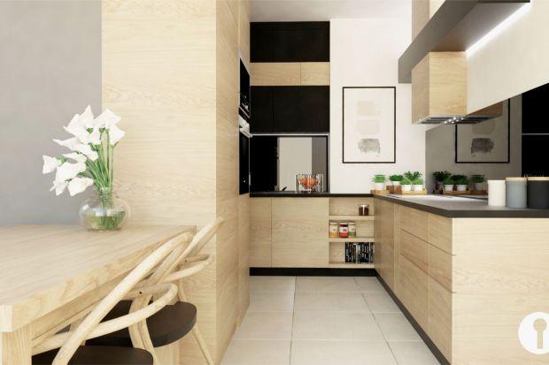 Nieduże mieszkanie z funkcjonalną kuchnią
