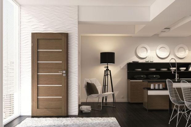 Drzwi w kuchni o ponadczasowym designie