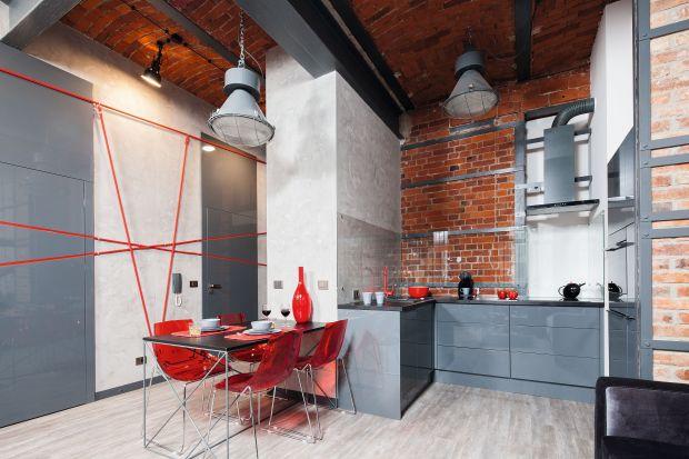 Kuchnia w stylu loft - gotowy projekt