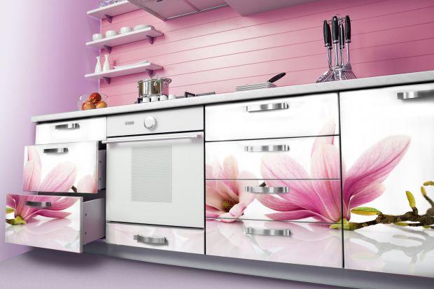 5 pomysłów na fototapety z motywem kwiatów do kuchni.