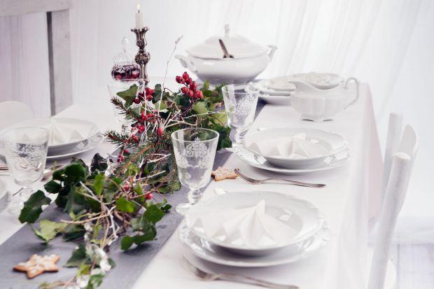 Stół na święta - najpiękniejsze aranżacje