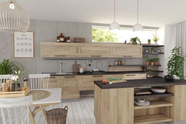 Wcielenie naturalności: meble do kuchni z dekorem drewna