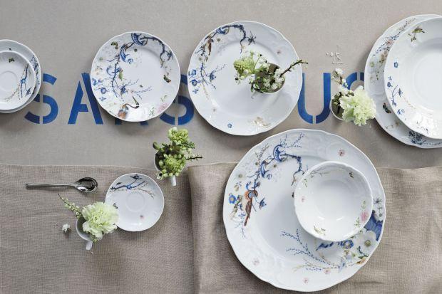 Piękna porcelana w klasycznym stylu
