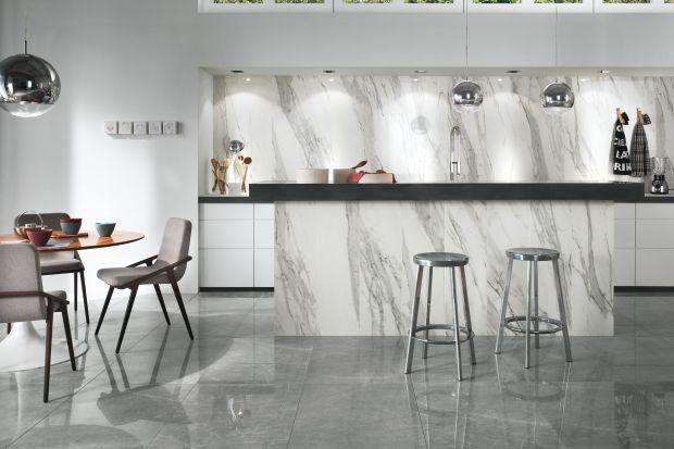 Hit 2017! Biały marmur w kuchni