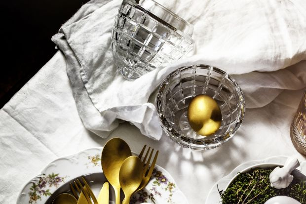 Kryształowe bomboniery na wielkanocny stół