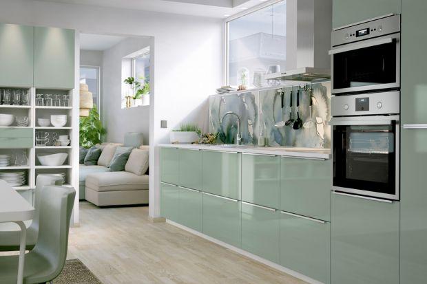 Zieleń w kuchni - 3 pomysły na aranżację.