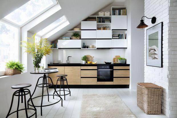 3 pomysły na półki w kuchni
