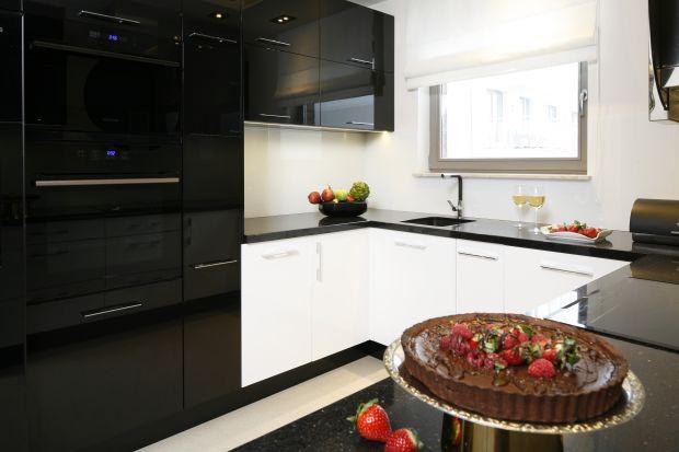 3 pomysły na łączenie czerni i bieli w kuchni.