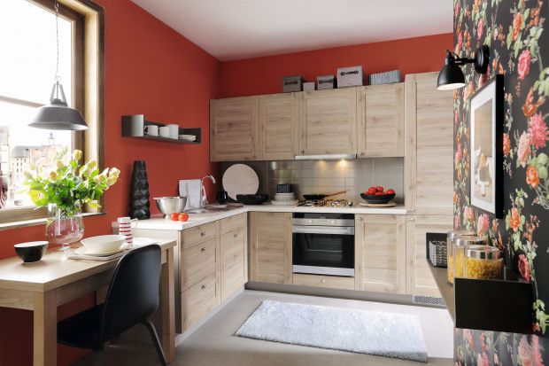 Czerwień w kuchni - 9 pomysłów na aranżację.