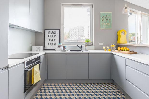 Mała szara kuchnia. 20 pięknych zdjęć