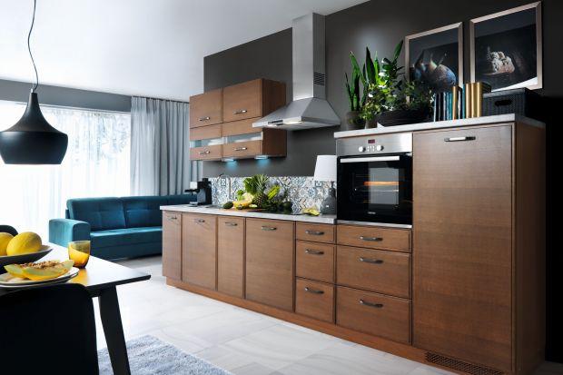 Meble na jedną ścianę. 3 piękne kuchnie