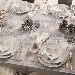 Serwis Åsa's Christmas White, Fyrklӧvern