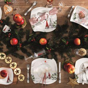 Serwis Åsa's Christmas Red, Fyrklӧvern