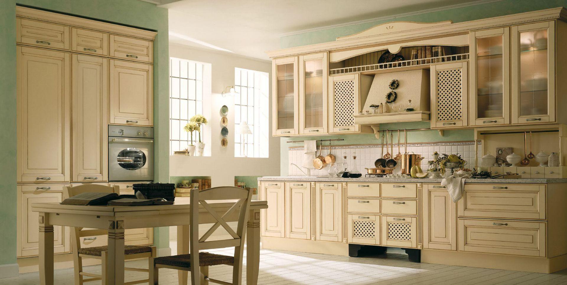 Wiejski styl w kuchni. Fot. Aran Cucine.