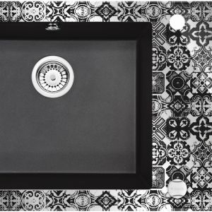 Zlewozmywak Capella Precious Kolor: platinum (platynowy z efektem lustrzanym) Sugerowana cena brutto: 2 799 zł