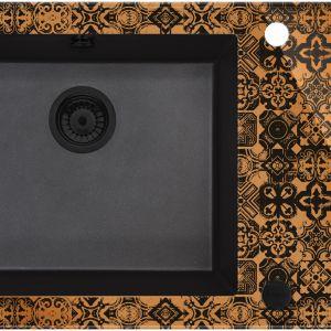 Zlewozmywak Capella Precious Kolor: copper (miedziany z mieniącymi drobinkami) Sugerowana cena brutto: 2 799 zł