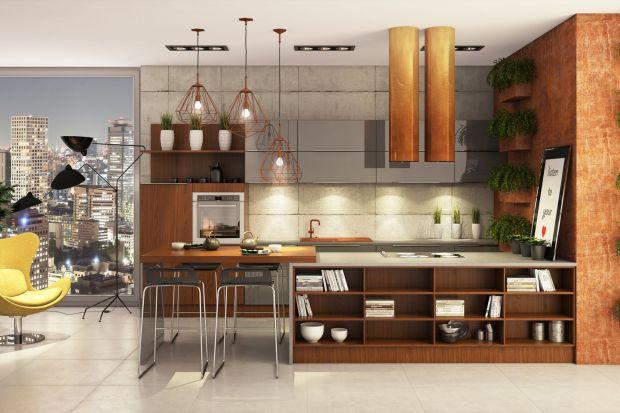 5 pomysłów na oryginalną kuchnię z drewnem