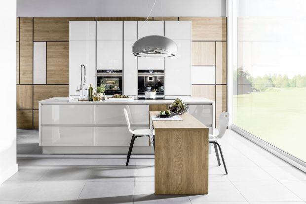 3 pomysły na meble do kuchni na wysoki połysk.