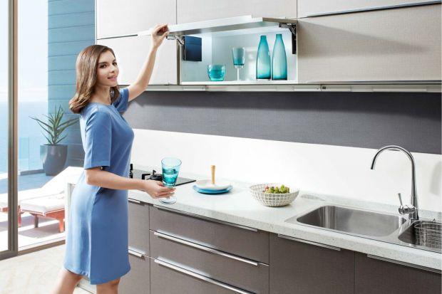 Wygodna kuchnia. Poznaj nowy system otwierania szafek
