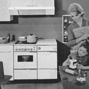 1962 rozwój pełnej gamy urządzeń AGD mat. Comitor