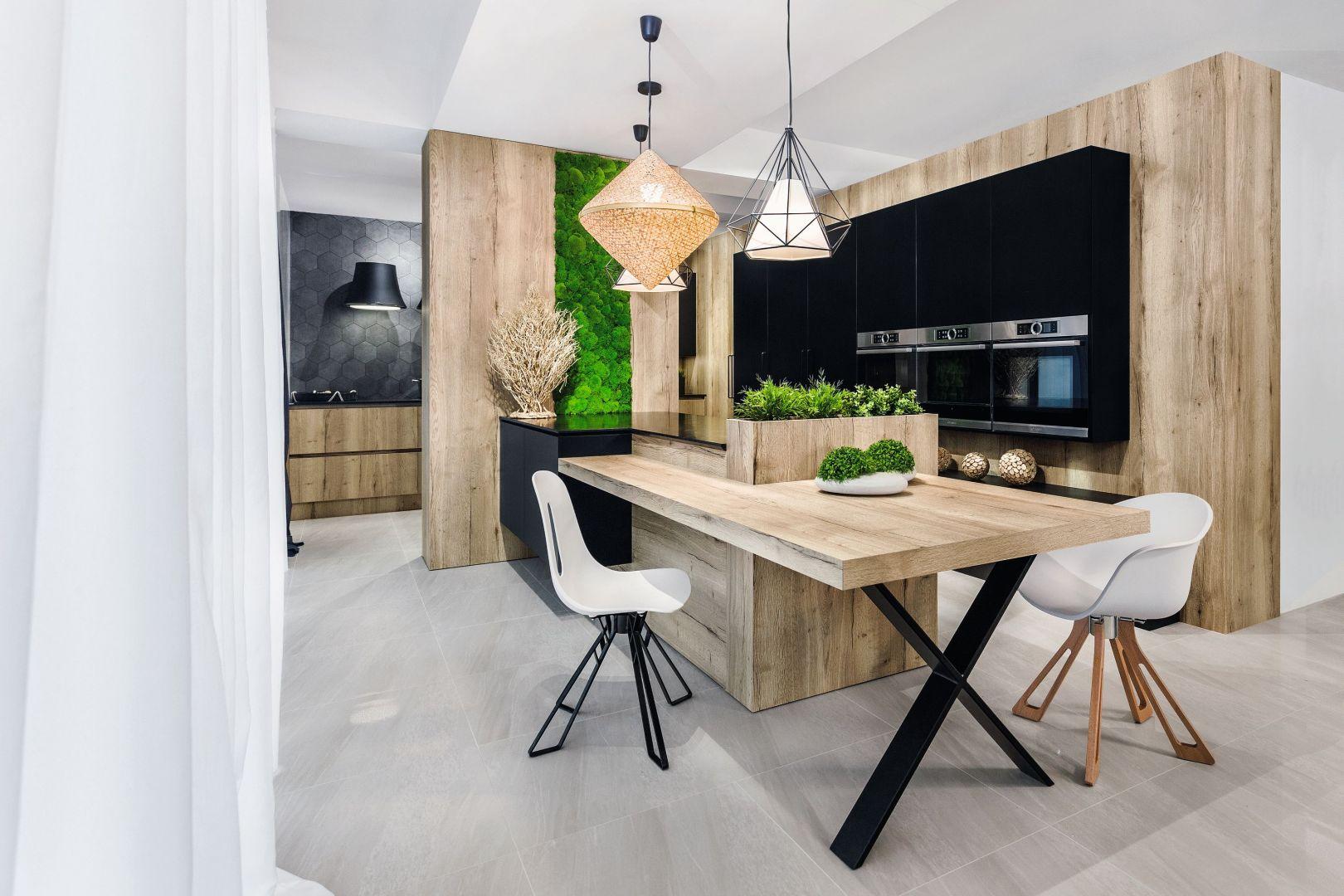 Urządzamy kuchnię z jadalnią. Projekt Meble Vigo. Fot. Artur Krupa