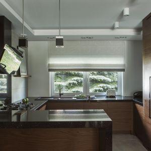 Okno w kuchni. Projekt MAFGROUP