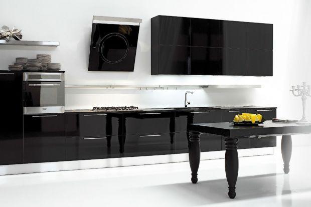 5 pomysłów na czarne meble do kuchni