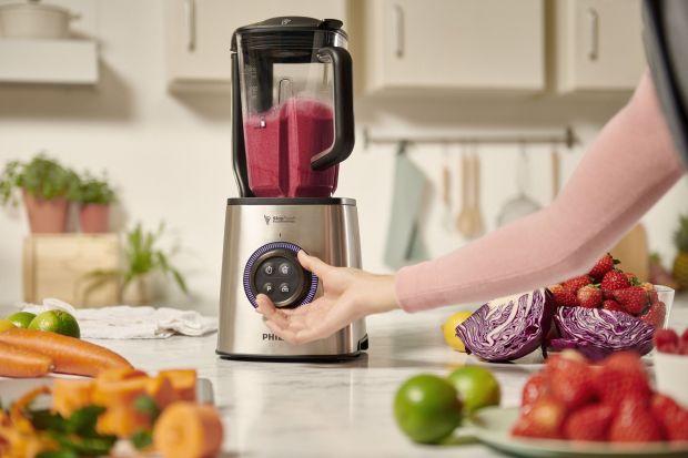 Zachowaj świeżość swoich domowych koktajli przez cały dzień! Unikalna technologia blendowania próżniowego dostępna w blenderze szybkoobrotowym Philips HR3752 redukuje utlenianie, dzięki czemu przez wiele godzin możesz cieszyć się pysznym i bo