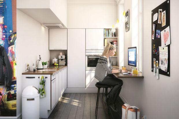 Pięć pomysłów na meble kuchenne z barkiem.
