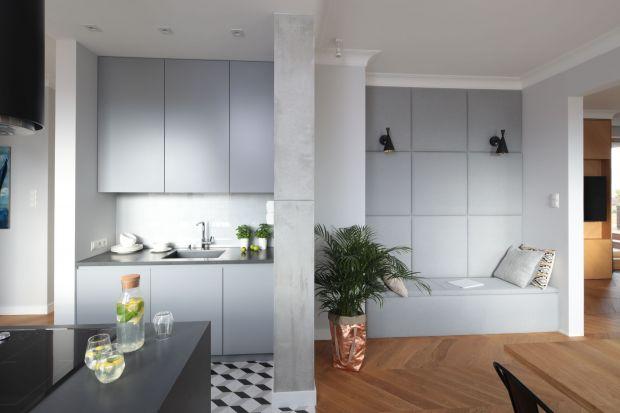 Beton w modnej kuchni. 20 pięknych zdjęć