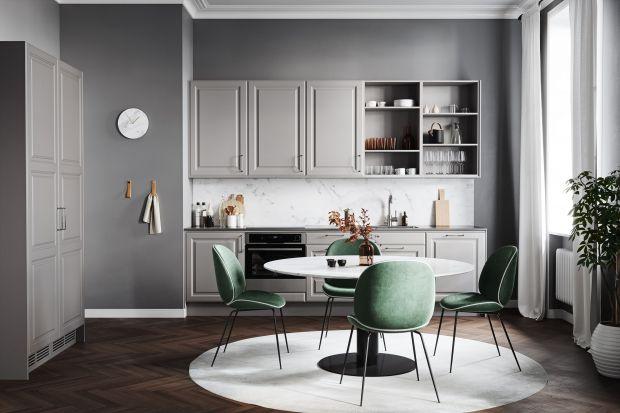Szara kuchnia nie wychodzi z mody. Zobaczcie 15 propozycji na meble w tym trendowym kolorze.