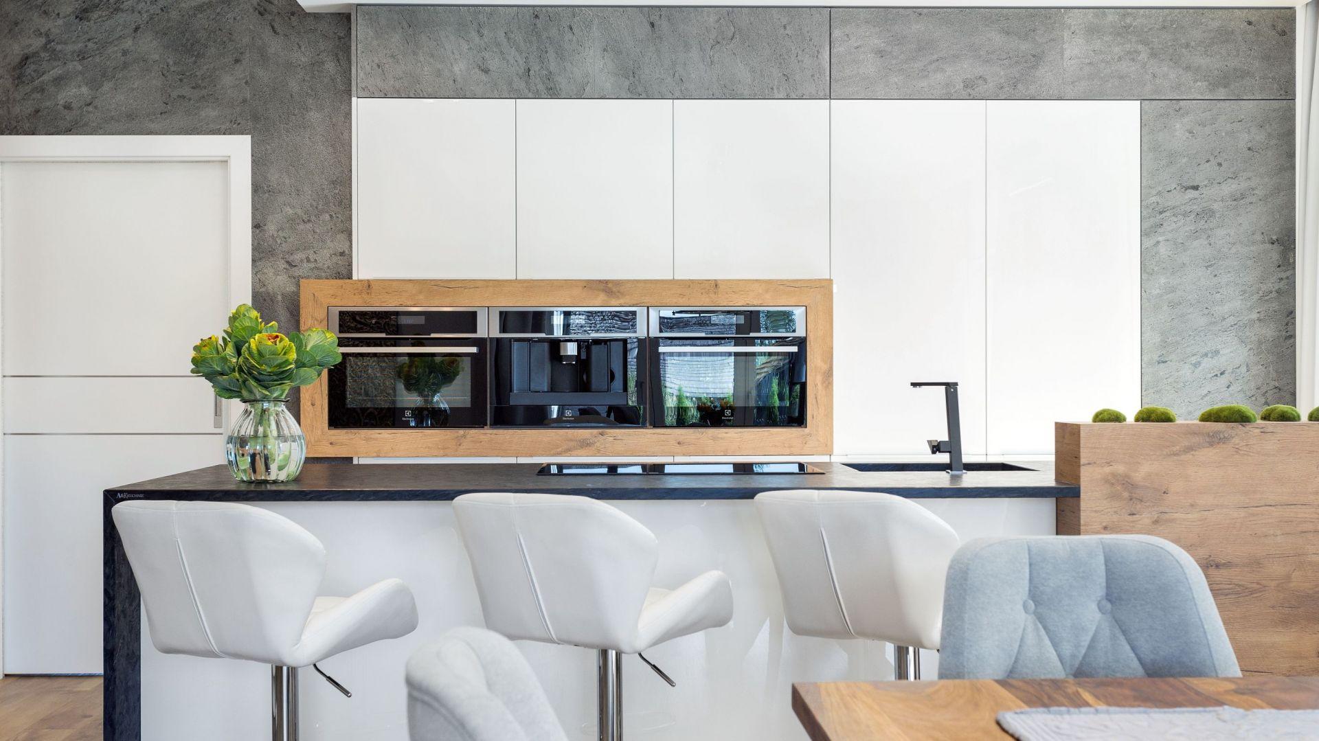Kuchnia dla rodziny. Projekt A&K Kuchnie.