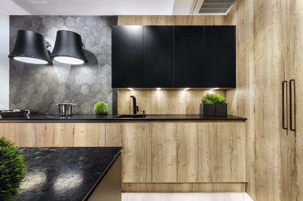 Drewno w nowoczesnej kuchni. Zobacz 20 pięknych zdjęć