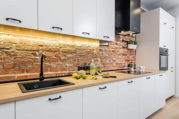 Pięć pomysłów na oświetlenie blatu w kuchni.