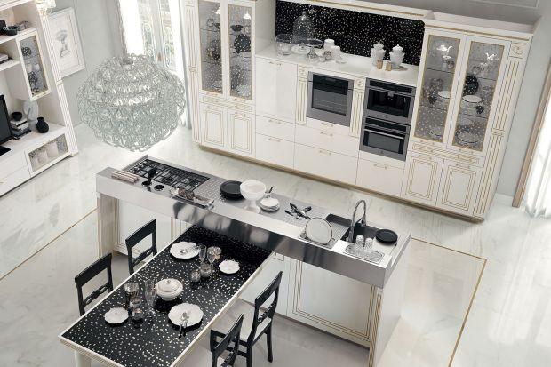 Śniadanie u Tiffaniego. Zobacz piękny projekt kuchni