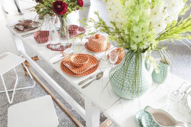 Pięć pomysłów na porcelanę w wiosennych kolorach.