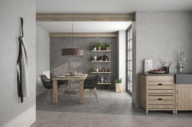 5 pomysłów na szare płytki do kuchni