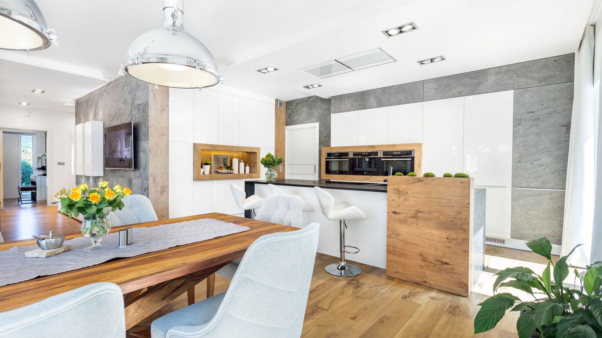 Kuchnia dla rodziny. Projekt A&K Kuchnie