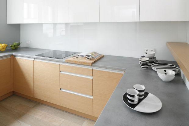 Blat laminowany - 5 ładnych kuchni