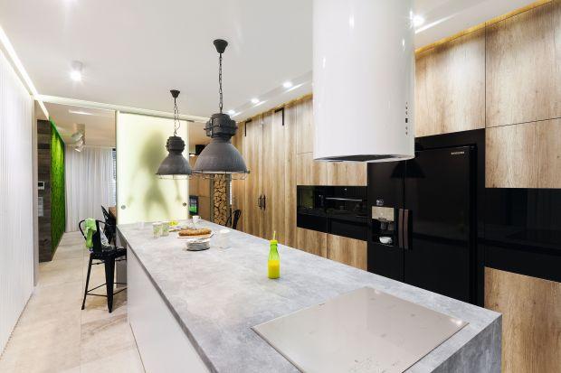 Lodówka w nowoczesnej kuchni