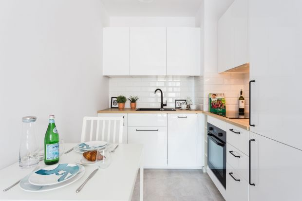 Mała kuchnia w mieszkaniu. 15 pięknych aranżacji