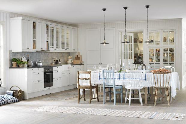5 pomysłów na klasyczną kuchnię w stylu skandynawskim