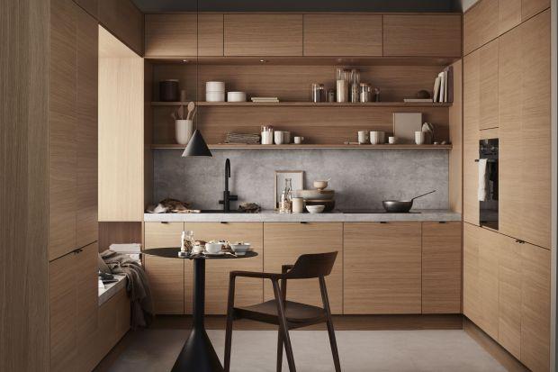 Drewno w modnej kuchni. 5 pięknych aranżacji
